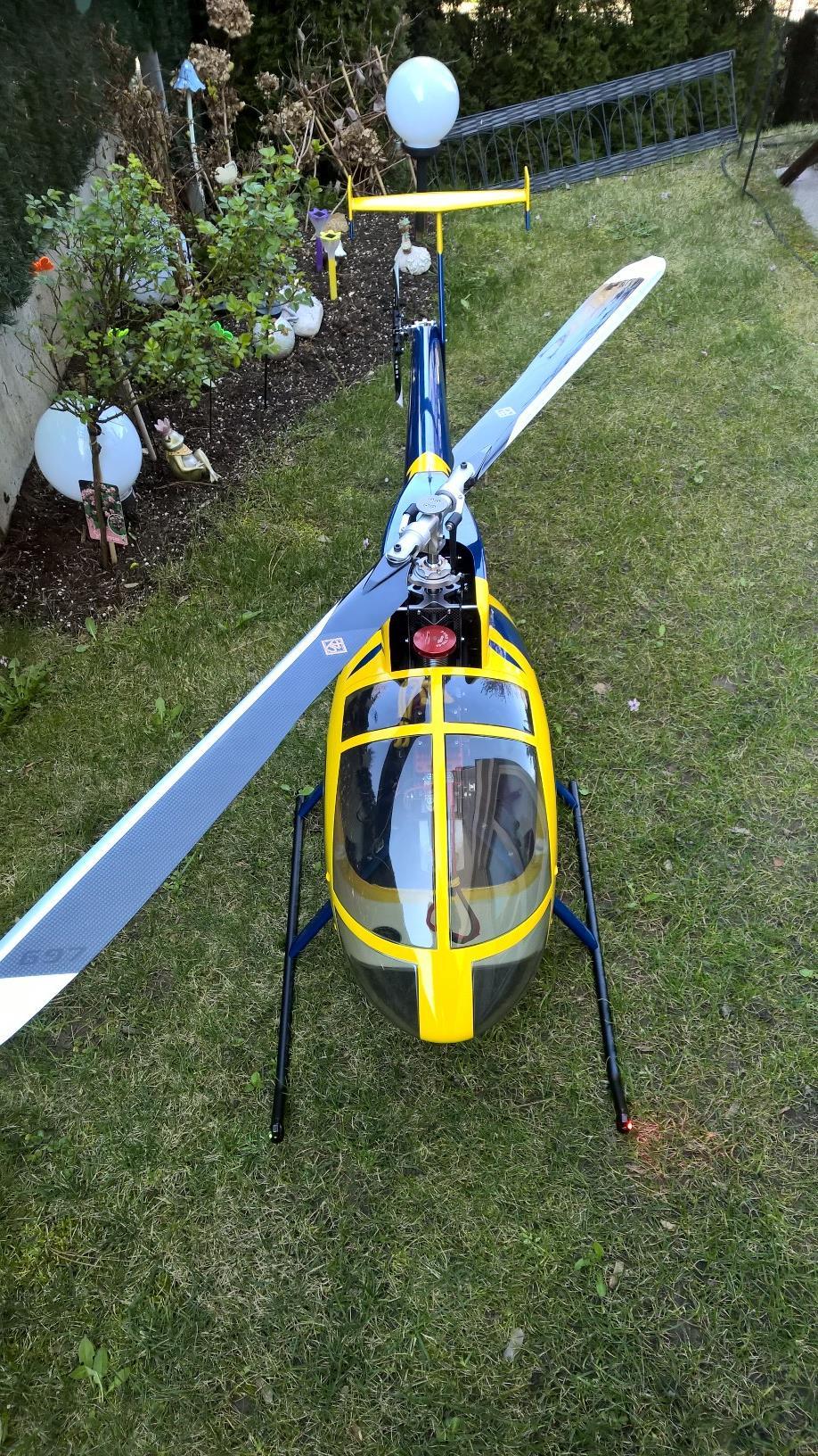 Hughes 500E -BIG FUN SCALE